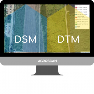 1. Obtaining DSM and DTM layers